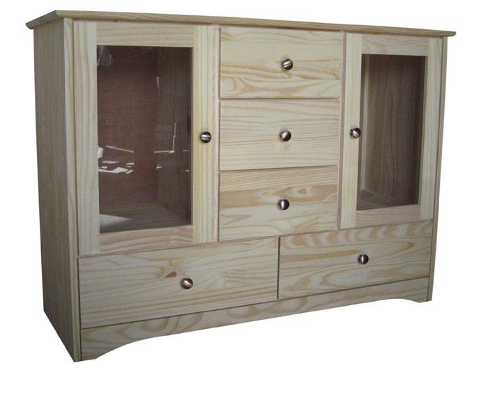 Ashley Homestore  sc 1 st  Country Wood Furniture & Bridgetown Buffet Cabinet With Glass Doors - BUFFETG