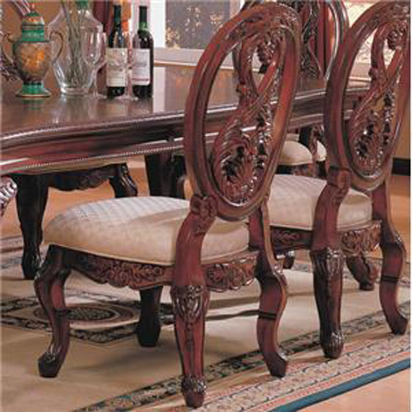 Coaster Nottingham Carved Side Chair