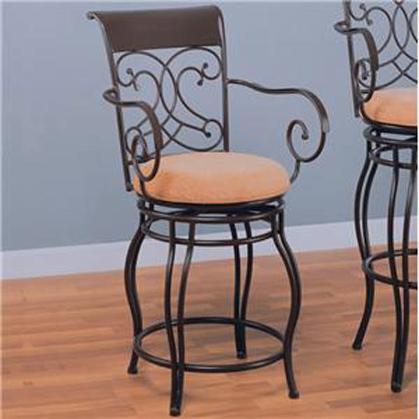Marvelous Coaster Metal Counter Stool 120020 San Jose Country Wood Ibusinesslaw Wood Chair Design Ideas Ibusinesslaworg