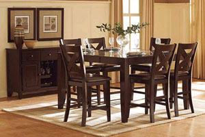 Homelegance Crown Point Counter Table Set
