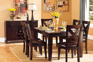Homelegance Crown Point Dining Table Set