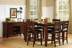 Homelegance Ameillia Counter Table Set