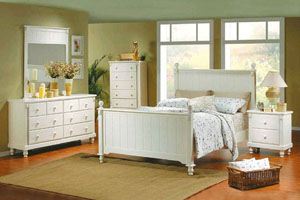 Homelegance Pottery Bedroom Set