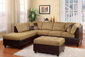 Homelegance Comfort Living Sectional
